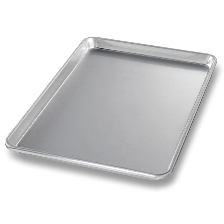 "Chicago Metallic 40955 Half-size Sheet Pan, 1"" Deep, AMERICOAT Glazed 14-ga. Aluminum"