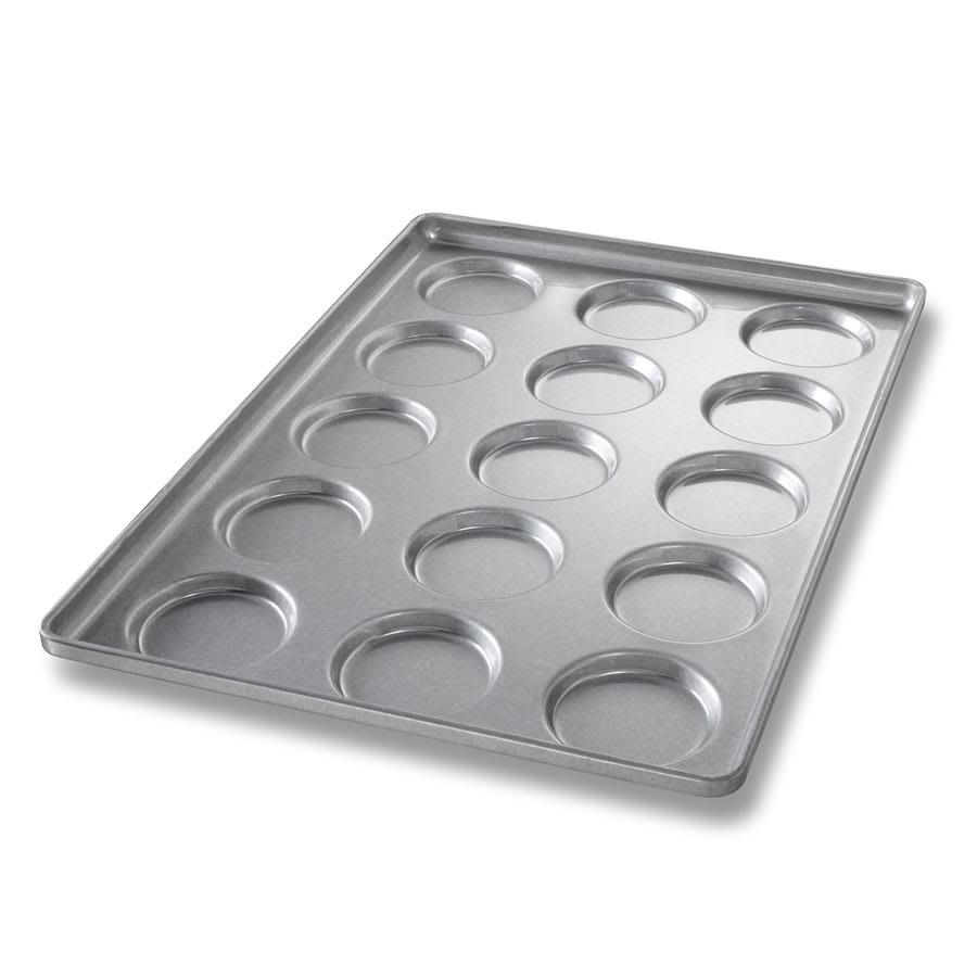 Chicago Metallic 41002 Bun & Roll Pan, Holds 3-Rows of 5, Aluminized Steel
