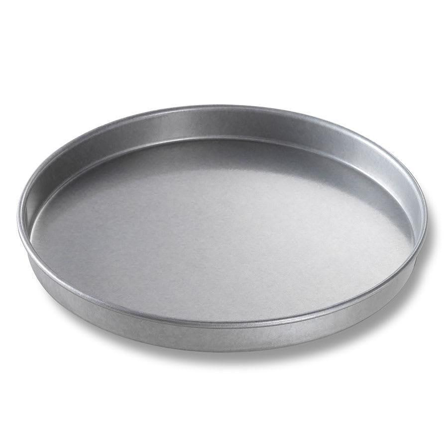 "Chicago Metallic 41010 Cake Pan, 10"" Dia., 1"" Deep, Non-coated 26-ga. Aluminized Steel"