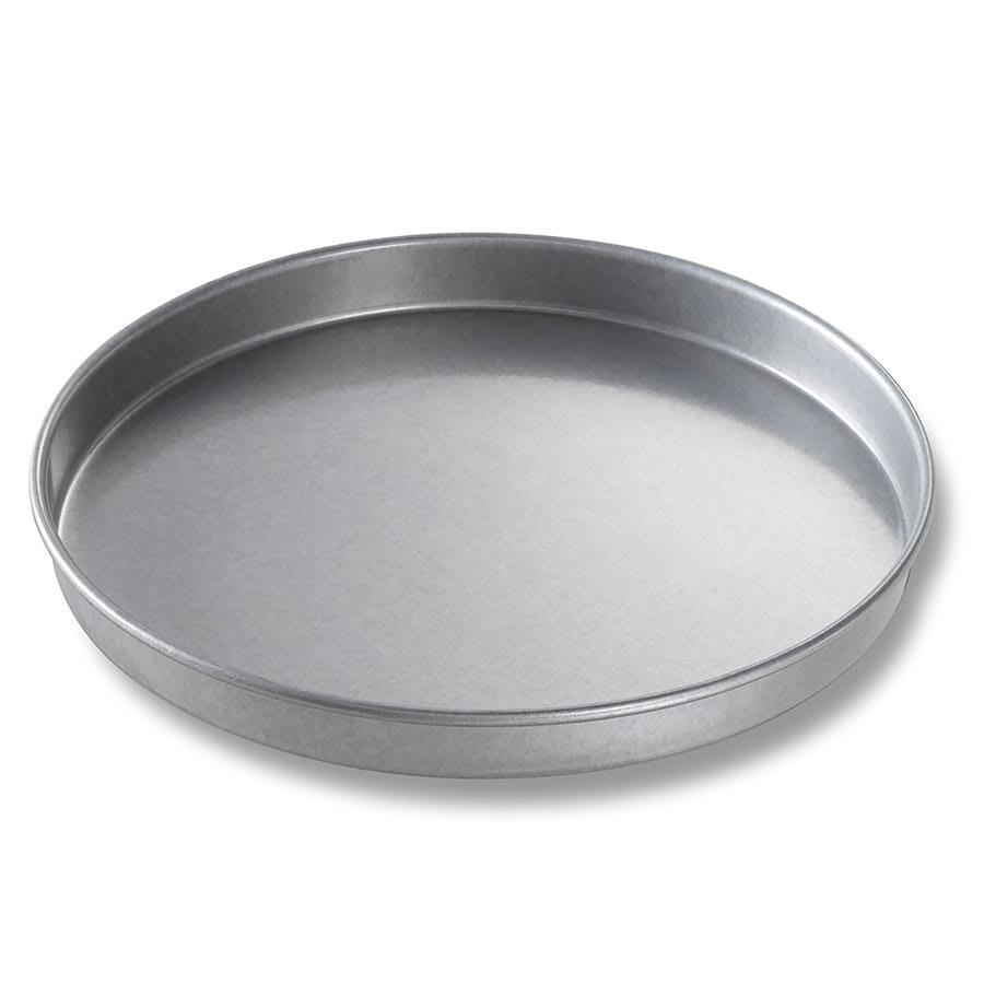 "Chicago Metallic 41018 Cake Pan, 10"" Dia., 1"" Deep, AMERICOAT Glazed 26-ga. Aluminized Steel"