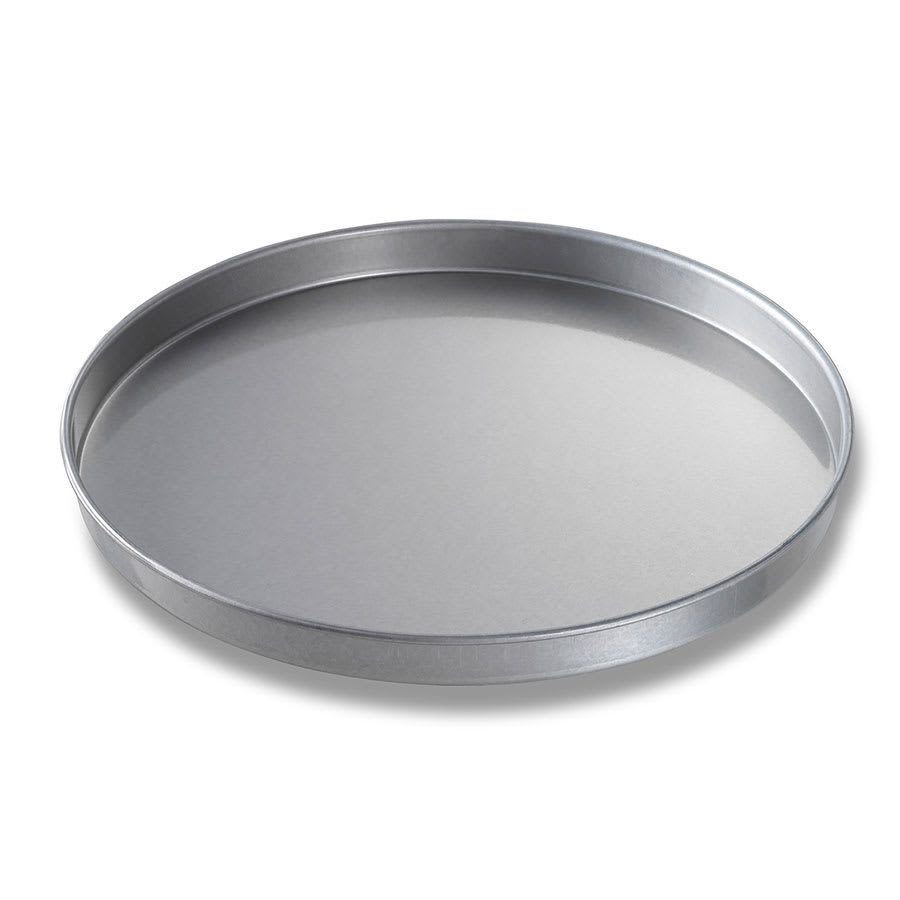 "Chicago Metallic 41400 Cake Pan, 14"" Dia., 1"" Deep, Non-coated 22-ga. Aluminized Steel"