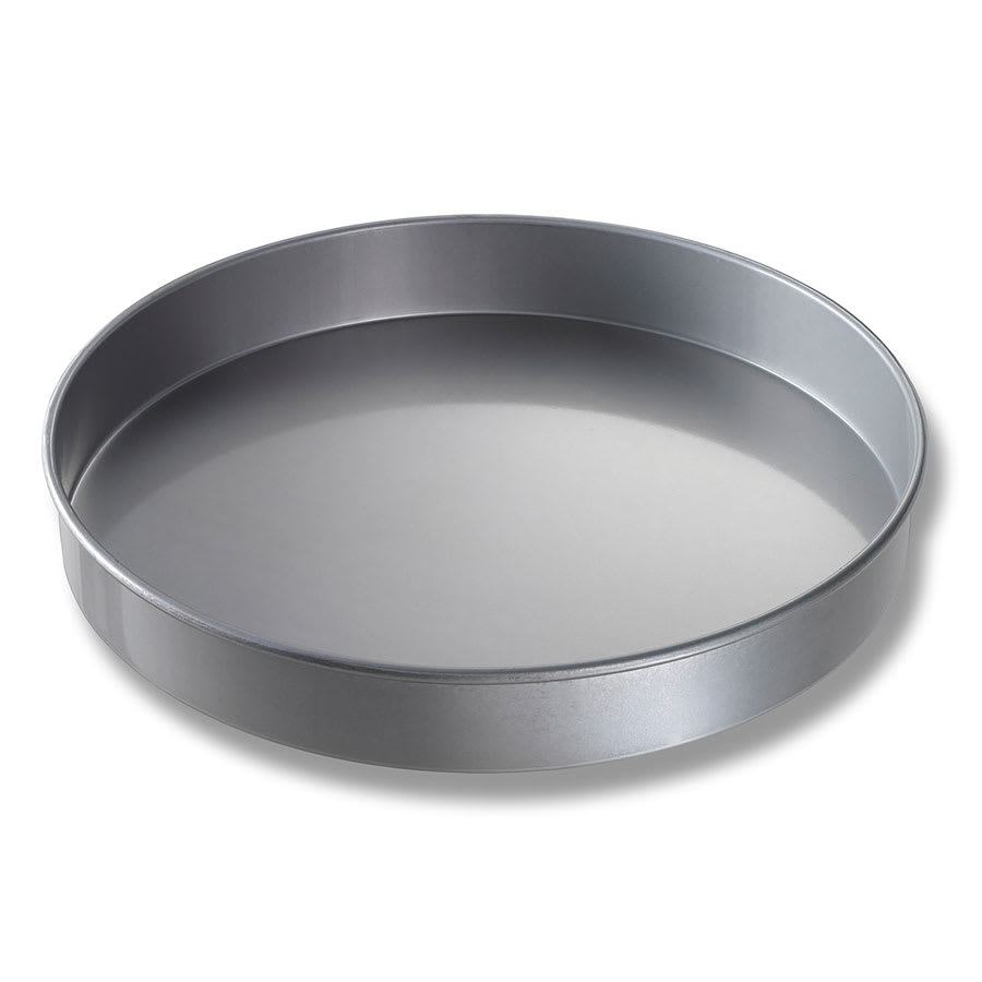 "Chicago Metallic 41420 Cake Pan, 14"" Dia., 2"" Deep, Straight Sides, Non-coated 22 ga. Aluminized Steel"