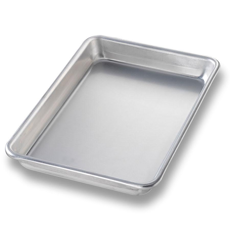 "Chicago Metallic 41805 Eight-size Sheet Pan, 0.03"" Deep, AMERICOAT Glazed 16-ga. Aluminum"