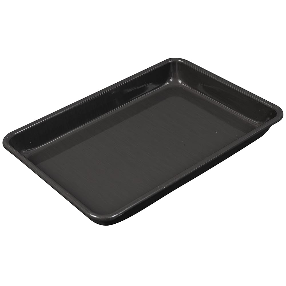"Chicago Metallic 41854 Eighth-size Sheet Pan, BAKALON, 0.03"" Deep, AMERICOAT Glazed 16-ga. Anodized Aluminum"
