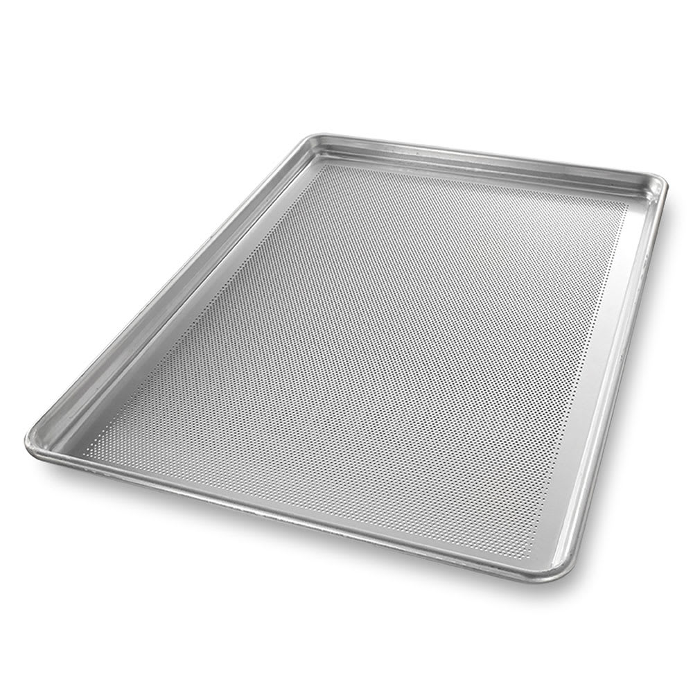 Chicago Metallic 44690 StayFlat™ Full Size Sheet Pan, Aluminum