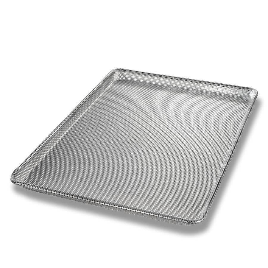 "Chicago Metallic 44692 Full-size Sheet Pan, 1.09"" Deep, Fully Perforated, AMERICOAT Glazed 16 ga. Aluminum"
