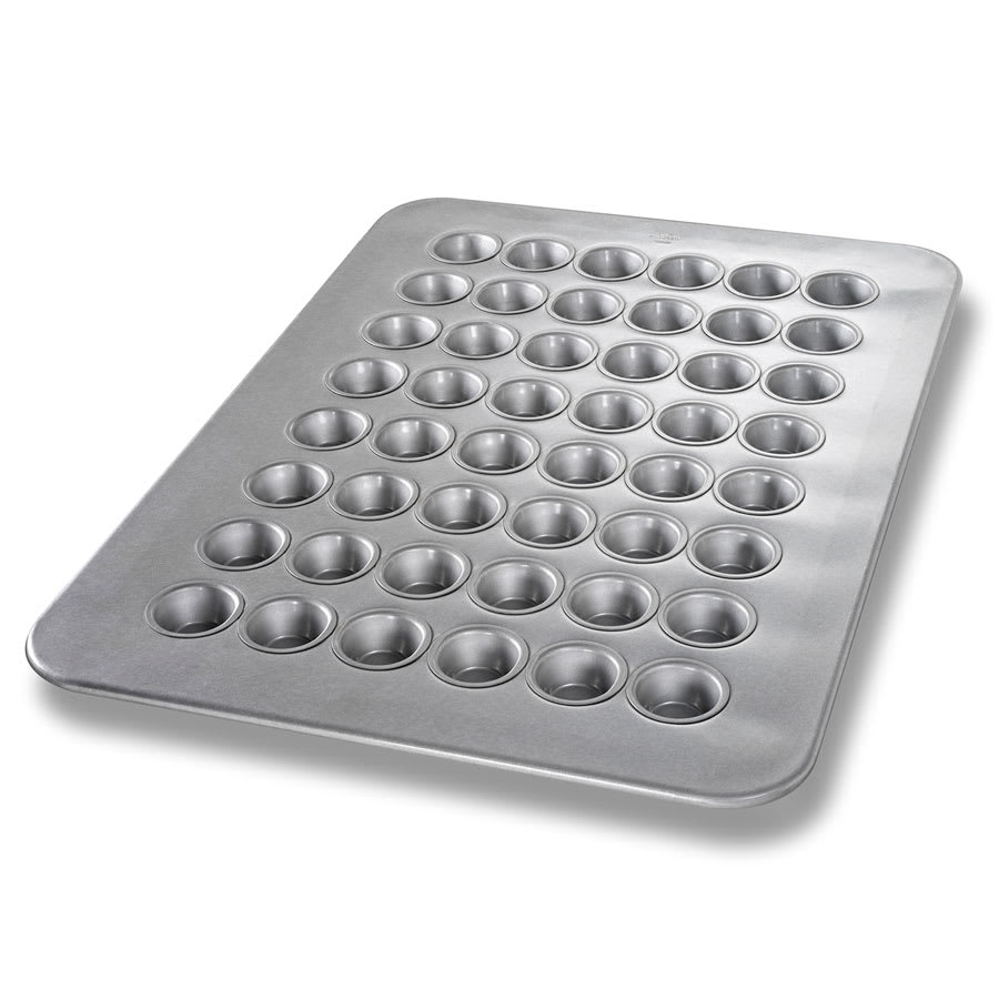 Chicago Metallic 45295 Mini Muffin Pan, Holds (48) 1.1-oz, Aluminized Steel
