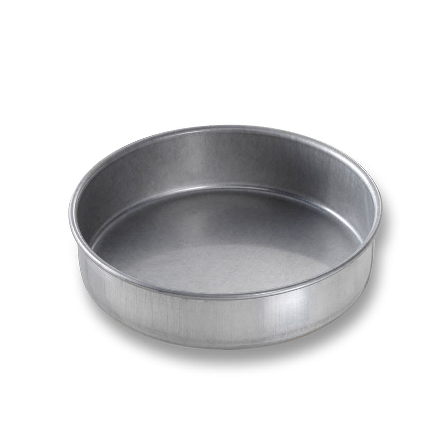 "Chicago Metallic 46155 Cake Pan, 6"" Dia., 1.5"" Deep, AMERICOAT Glazed 26-ga. Aluminized Steel"