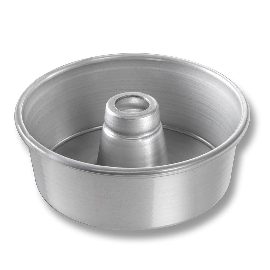 "Chicago Metallic 46500 Angel Food/Tube Cake Pan, 7.5"" Dia., 2.75"" Deep, Non-coated 15-ga. Aluminum"