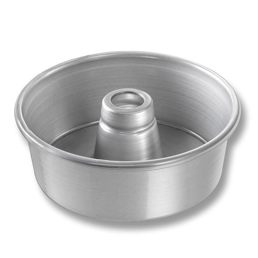 "Chicago Metallic 46505 Angel Food/Tube Cake Pan, 7.5"" Dia., 2.75"" Deep, AMERICOAT Glazed 15-ga. Aluminum"