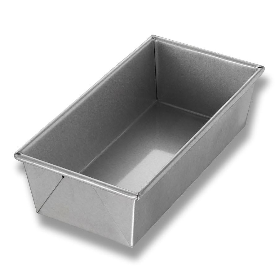 "Chicago Metallic 49110 Individual Bread Pan, 10"" x 5"" x 3"", Non-coated 26-ga. Aluminized Steel"