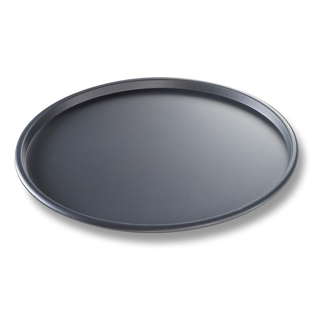 "Chicago Metallic 49123 12"" Thin Crust Pizza Pan, BAKALON, 0.5"" Deep, AMERICOAT Glazed 14 ga. Anodized Aluminum"
