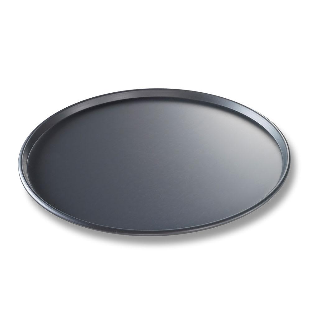 "Chicago Metallic 49143 14"" Thin Crust Pizza Pan, BAKALON, 0.5"" Deep, AMERICOAT Glazed 14-ga. Anodized Aluminum"