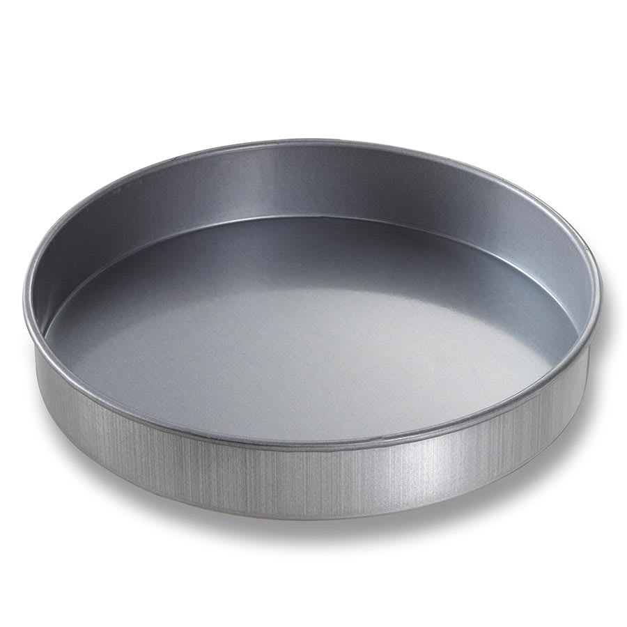 "Chicago Metallic 49155 Cake Pan, 9"" Dia., 1.5"" Deep, AMERICOAT Glazed 26 ga. Aluminized Steel"