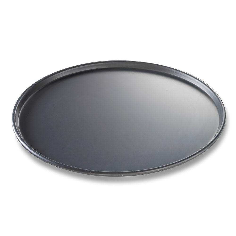 "Chicago Metallic 49163 16"" Thin Crust Pizza Pan, BAKALON, 0.5"" Deep, AMERICOAT Glazed 14-ga. Anodized Aluminum"