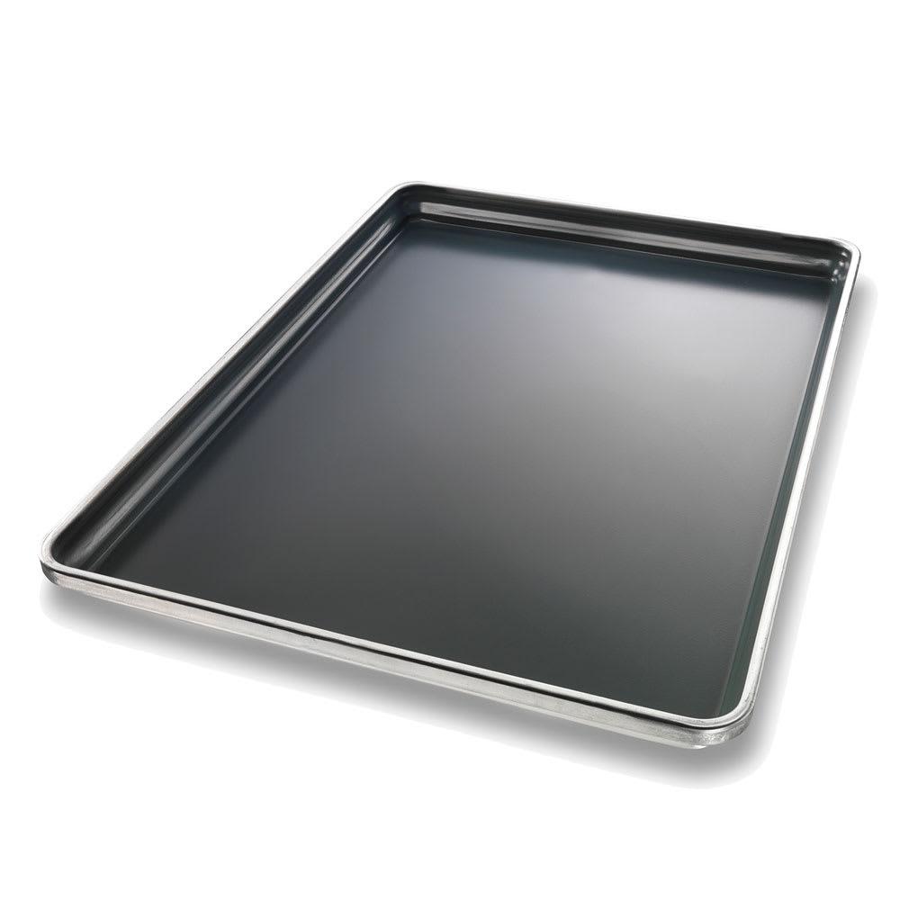 "Chicago Metallic 50691 Full-size Sheet Pan, StayFlat, 1"" Deep, DuraSheild Coated 16-ga. Aluminum"
