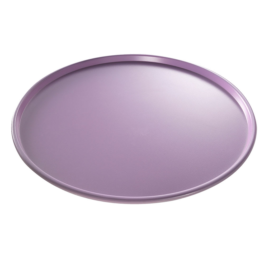 "Chicago Metallic 69120 Allergen Management 12"" Thin Crust Pizza Pan, 0.5"" Deep, DuraShield 14-ga. Aluminum"