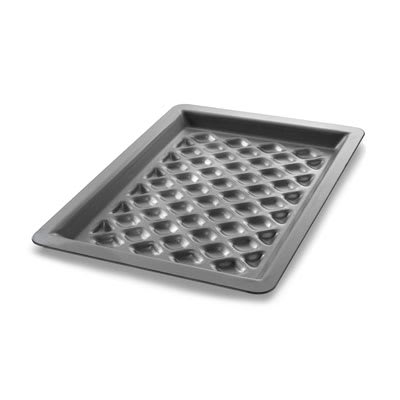 "Chicago Metallic 70824 1/4 Quarter Size Bun / Sheet Pan - 11.5"" x 8"" x 1"", 16 gauge Aluminum, AMERICOAT®"