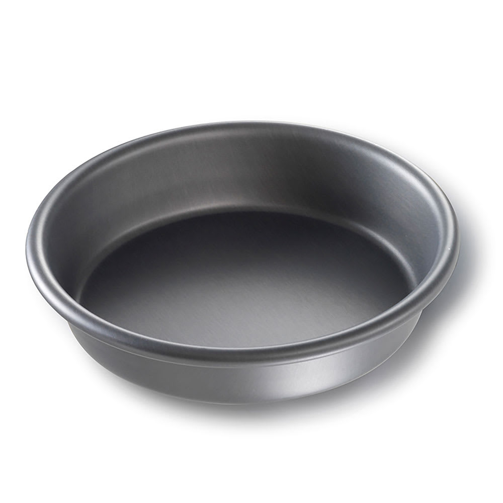 "Chicago Metallic 91065 6"" Deep Dish Pizza Pan, BAKALON, 1.5"" Deep, AMERICOAT Glazed 14 ga. Anodized Aluminum"