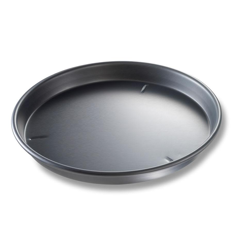 "Chicago Metallic 91140 14"" Deep Dish Pizza Pan, BAKALON, 1.5"" Deep, Non-coated 14 ga. Anodized Aluminum"