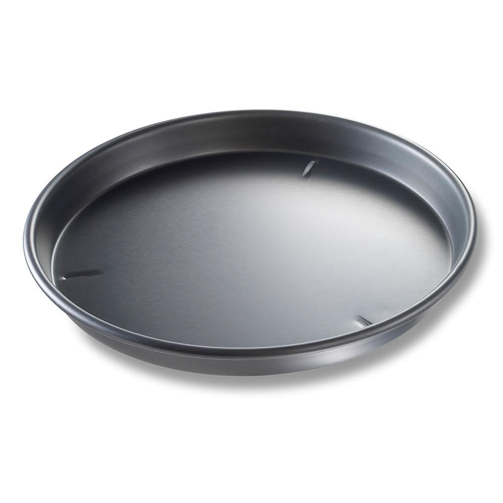 "Chicago Metallic 91145 14"" Deep Dish Pizza Pan, BAKALON, 1.5"" Deep, AMERICOAT Glazed 14 ga. Anodized Aluminum"