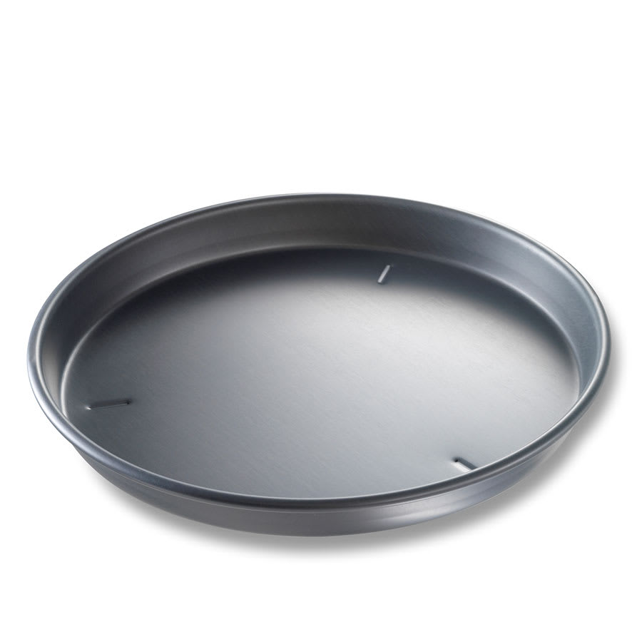 "Chicago Metallic 91150 15"" Deep Dish Pizza Pan, BAKALON, 1.5"" Deep, Non-coated 14 ga. Anodized Aluminum"