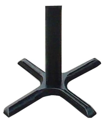 Correll BC2230-T Cross Base w/ Table Height Column, 22 x 30""