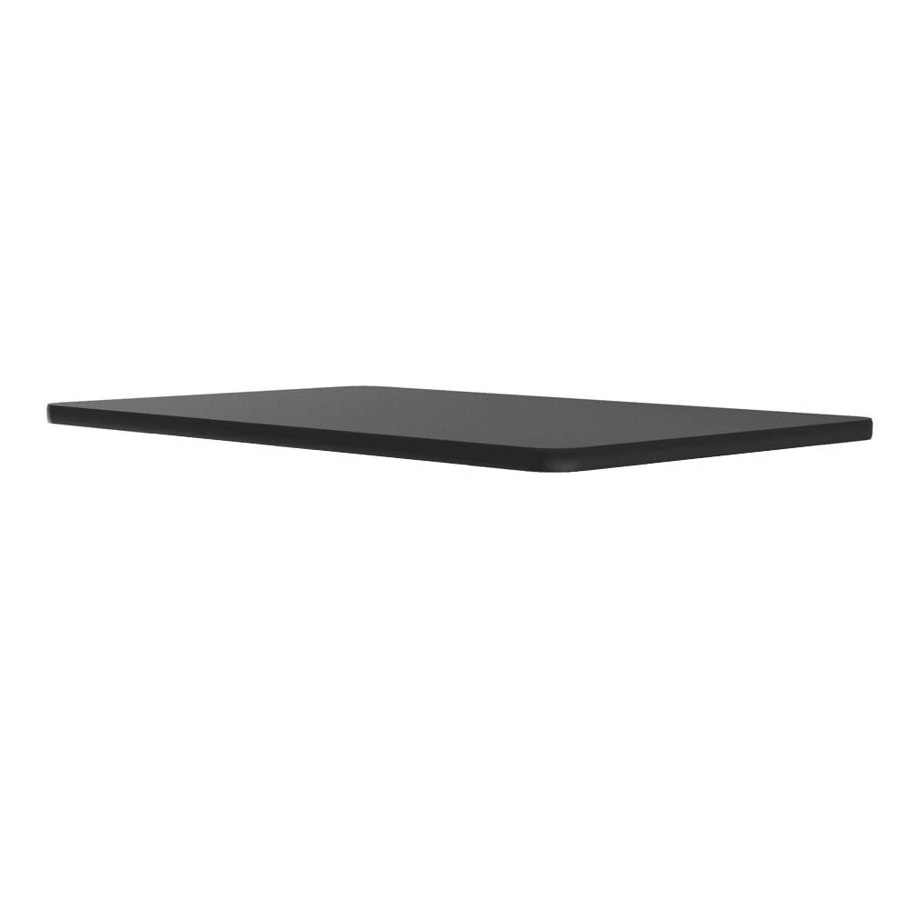 "Correll CT3042 07 Cafe Breakroom Table Top, 1.25"" High Pressure, 30 x 42"", Black Granite"