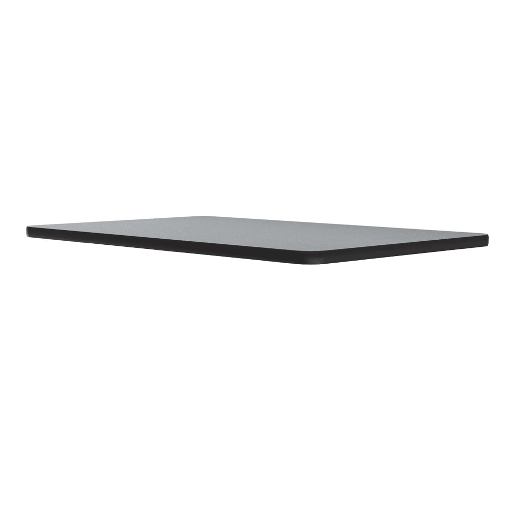 """Correll CT3042 15 Cafe Breakroom Table Top, 1.25"""" High Pressure, 30 x 42"""", Gray Granite"""