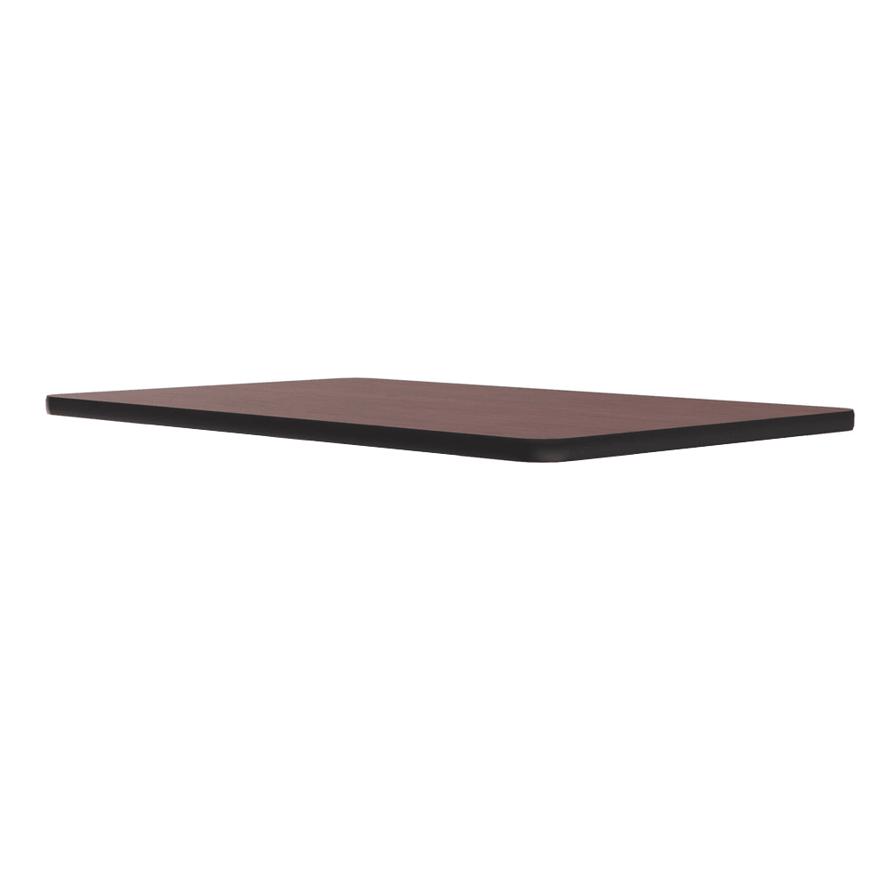 "Correll CT3042 20 Cafe Breakroom Table Top, 1.25"" High Pressure, 30 x 42"", Mahogany"