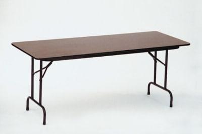 Correll F3072P 06 Folding Table w/ Medium Oak Plywood & Honeycomb Top, 30 x 72-in