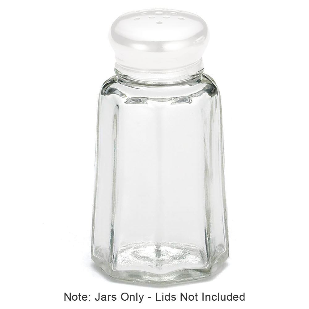 Tablecraft 150J-2 1 oz. Salt Pepper Shaker Jar Only, Fits Model 150 & 152