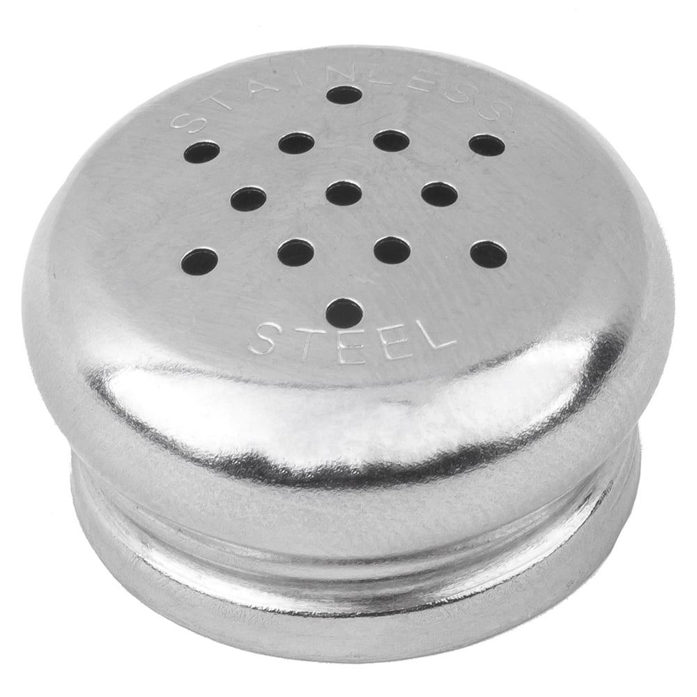 Tablecraft 150T Salt Pepper Shaker Top For 150 & 155, Stainless