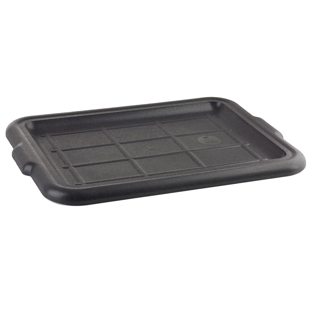 "Bus Box Tablecraft Black 21/"" x 16/"" x 5/"" Polyethylene Plastic Bus Tub"