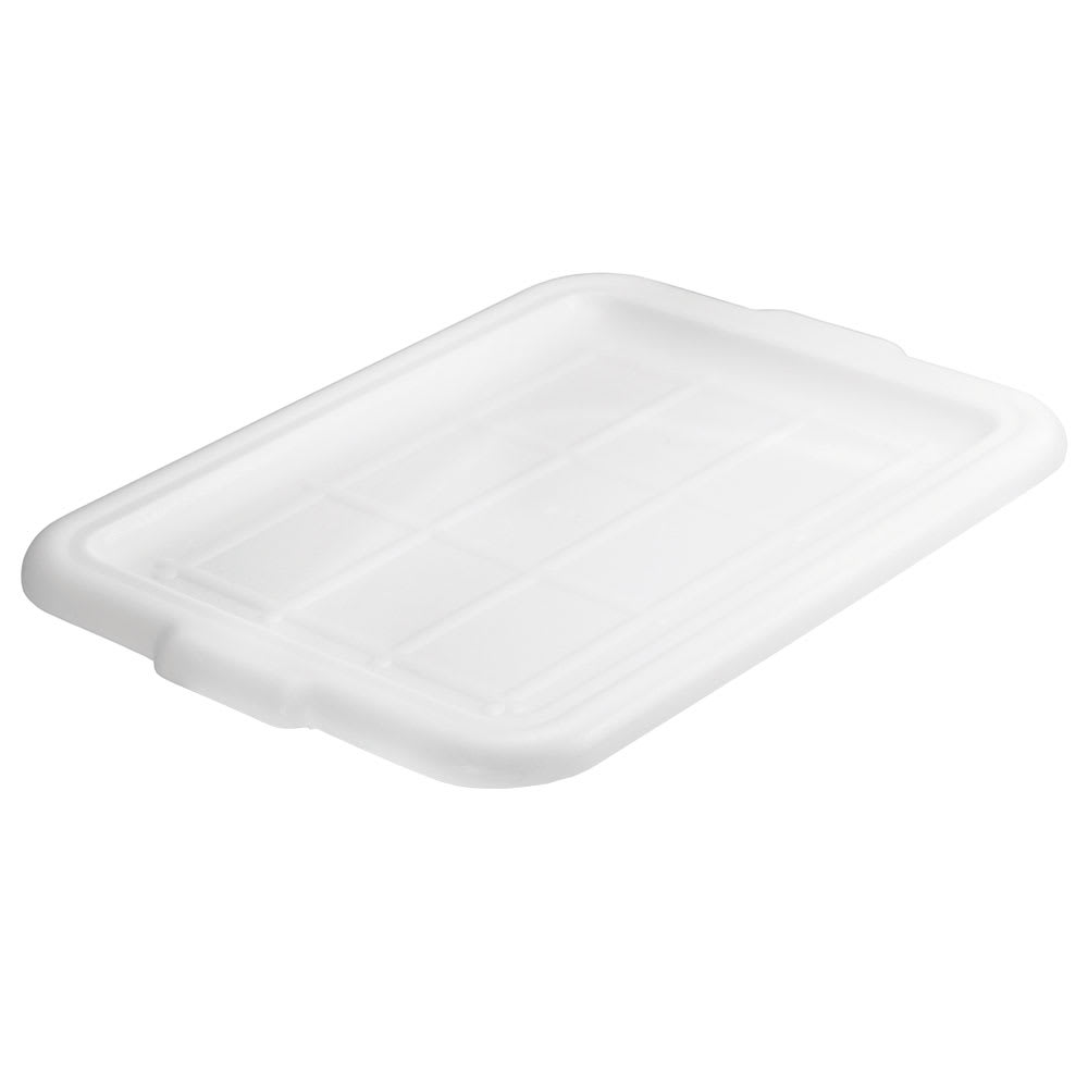 Tablecraft 1531N Food Storage Cover, High Density Polypropylene, White