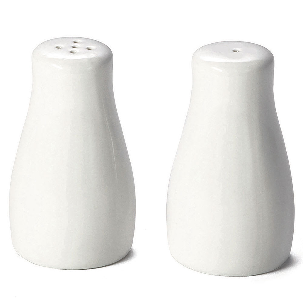 "Tablecraft 160 3.25"" Salt & Pepper Shaker Set, Round"