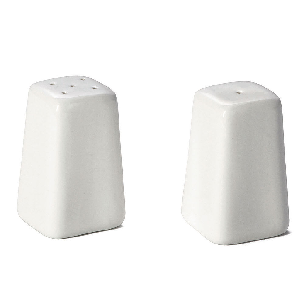 "Tablecraft 168 2.75"" Salt & Pepper Shaker Set, Square"