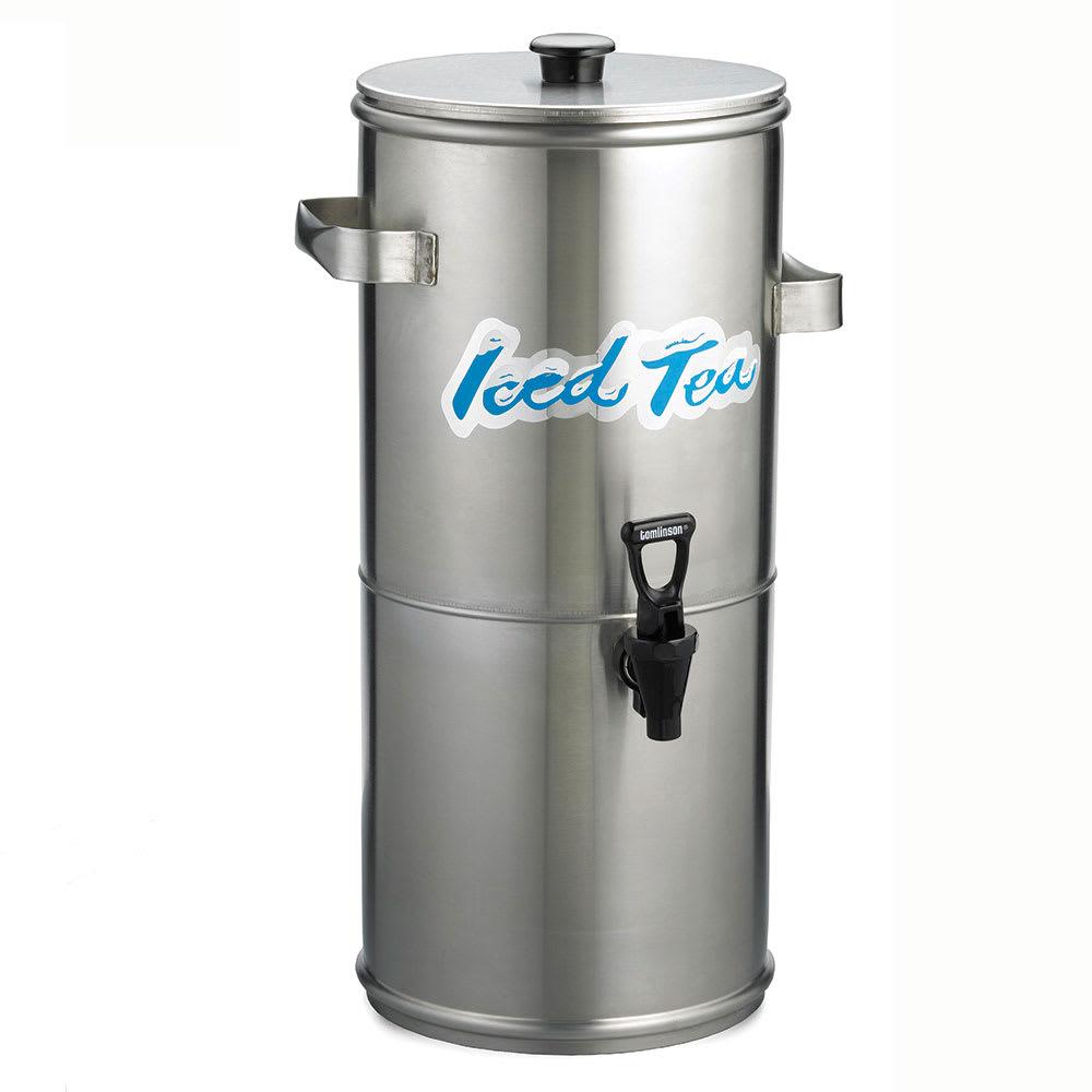 Tablecraft 1958 3 gal Round Iced Tea Coffee Dispenser w/ Handles