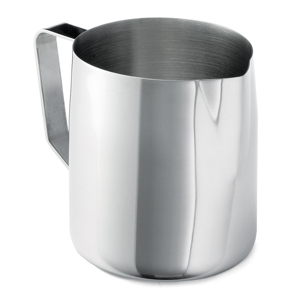 Tablecraft 2014 12 14 oz Stainless Steel Frothing Cup, Mirror Finish