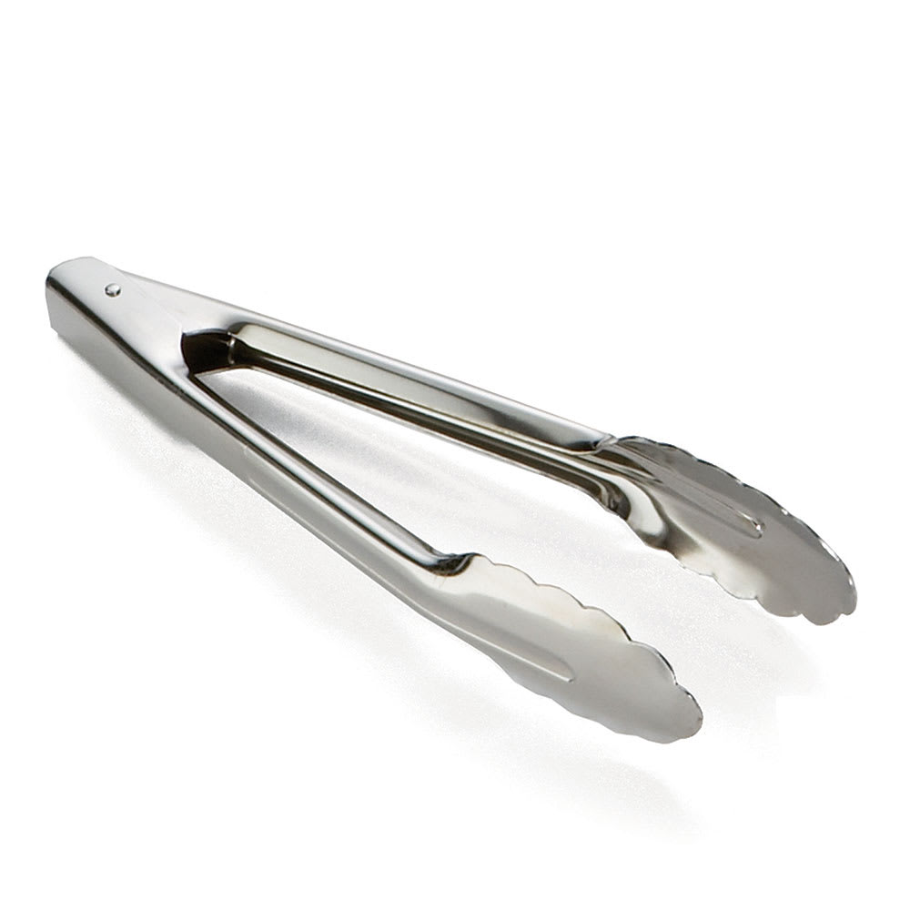 "Tablecraft 2774 10""L Stainless Utility Tongs"