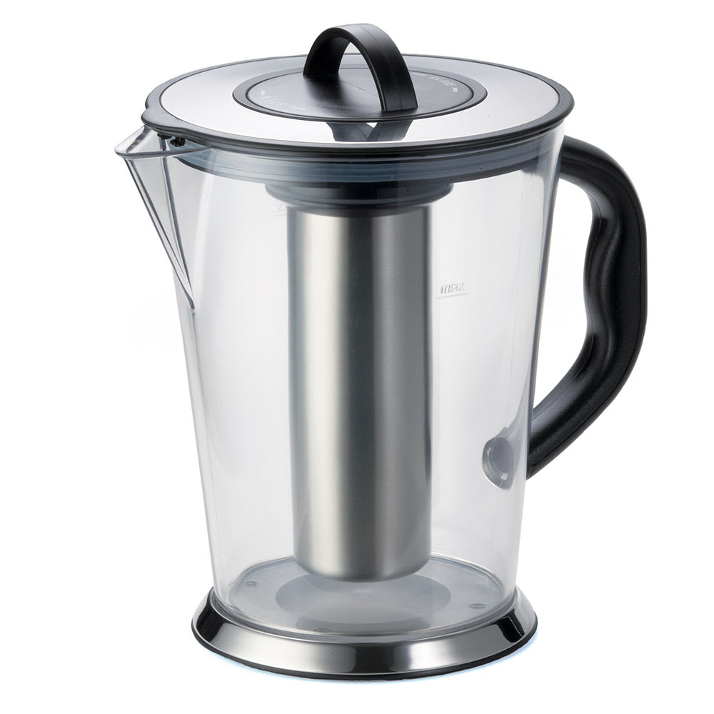 Tablecraft 2LKK 1/2-Gallon Ice Core Pitcher w/ Stainless Steel, Polycarbonate