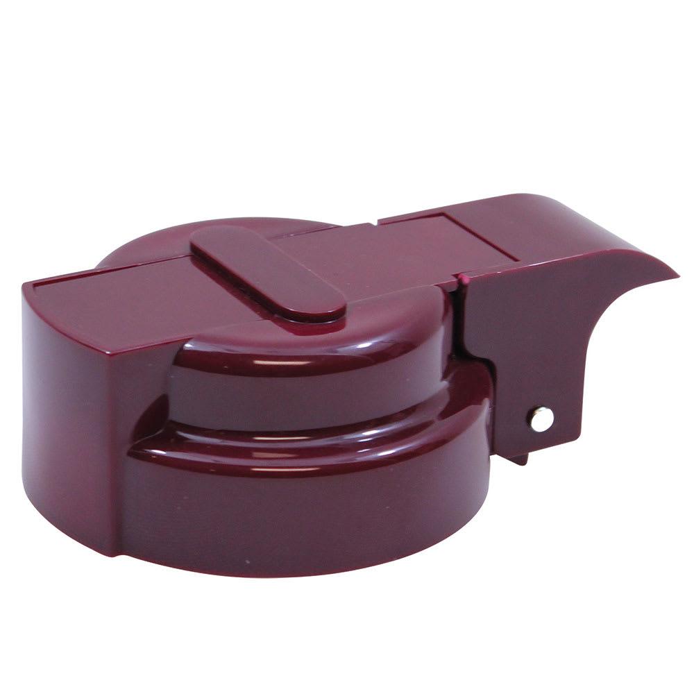 Tablecraft 3248MT Liquid Dispenser Top, Maroon, Fits Polyethylene or Lexan Jars