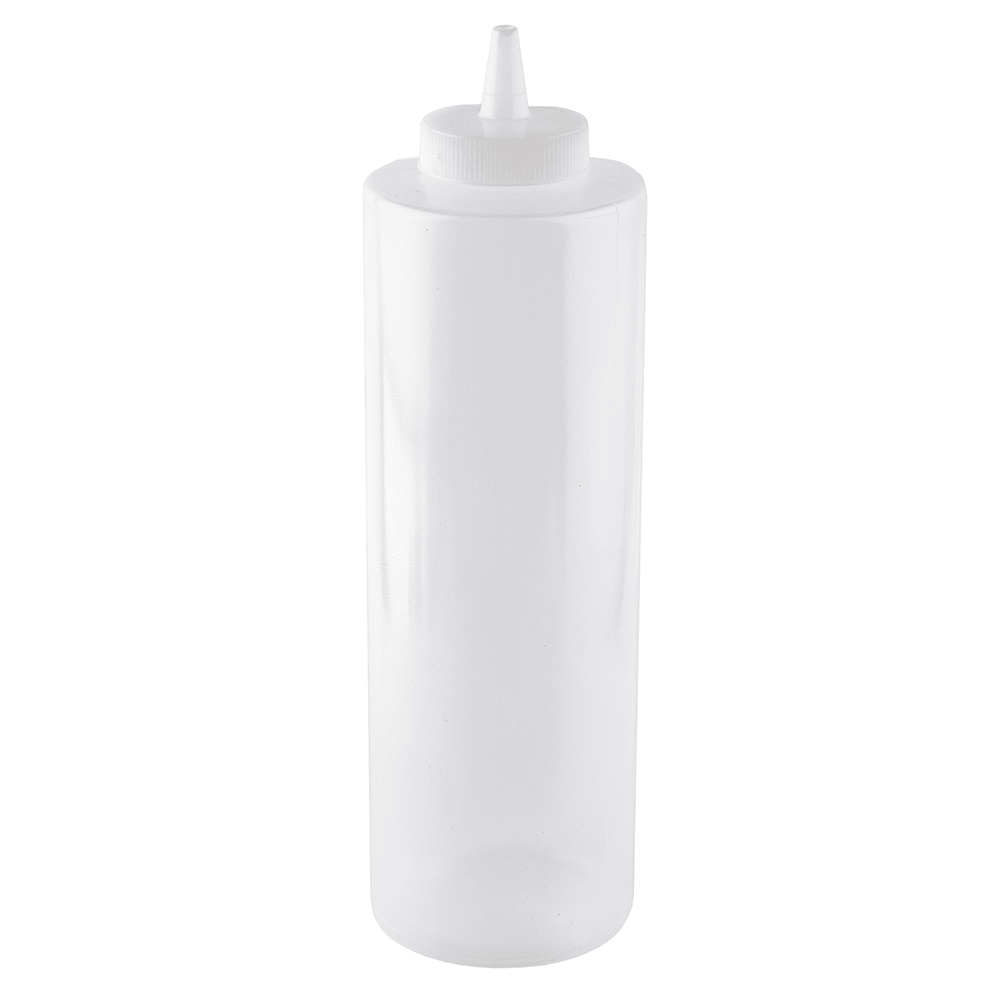 Tablecraft 325-1 24-oz Squeeze Dispenser w/ Wide Cone Tip, Natural