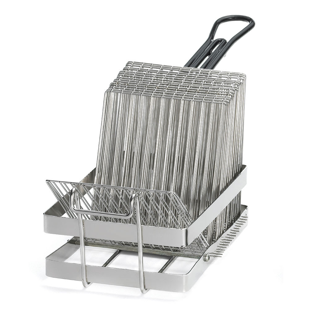 Tablecraft 41 Tostada Fryer Basket w/ 17-Shell Capacity