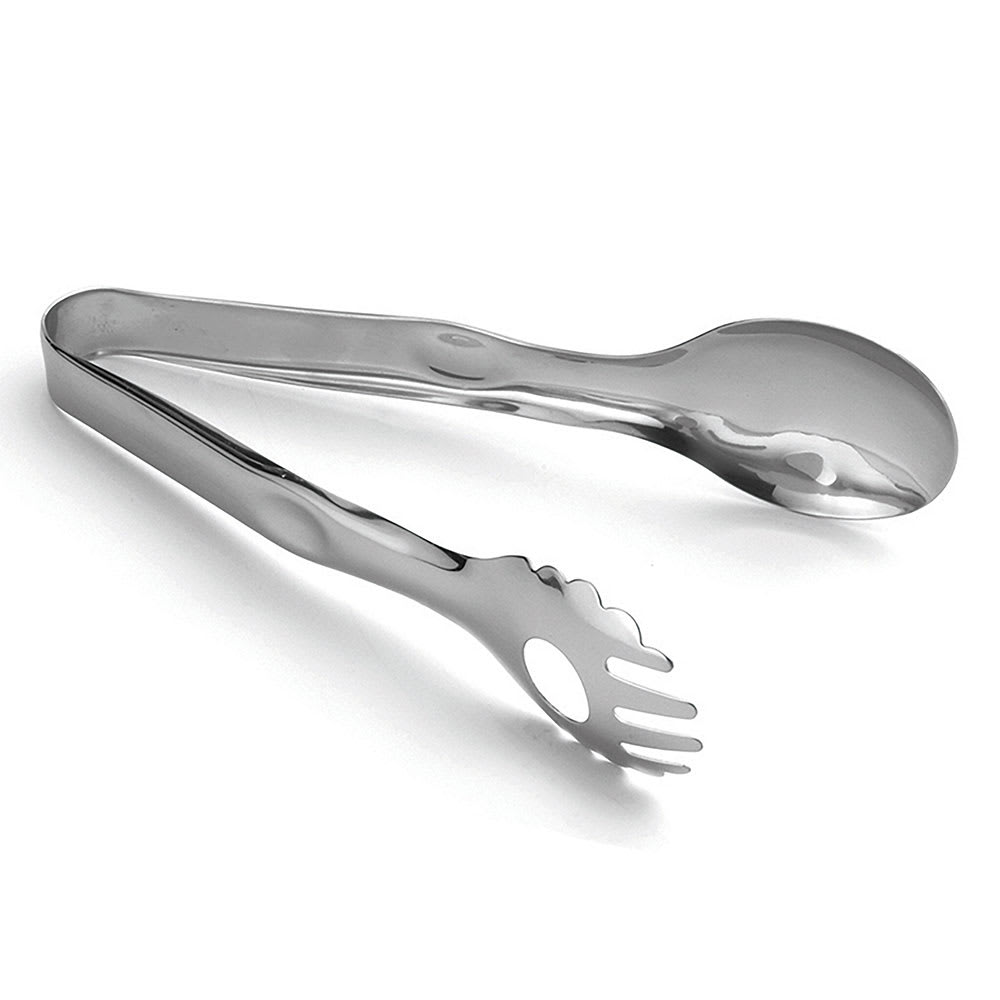 "Tablecraft 4402 8.5""L Stainless Serving Tongs"