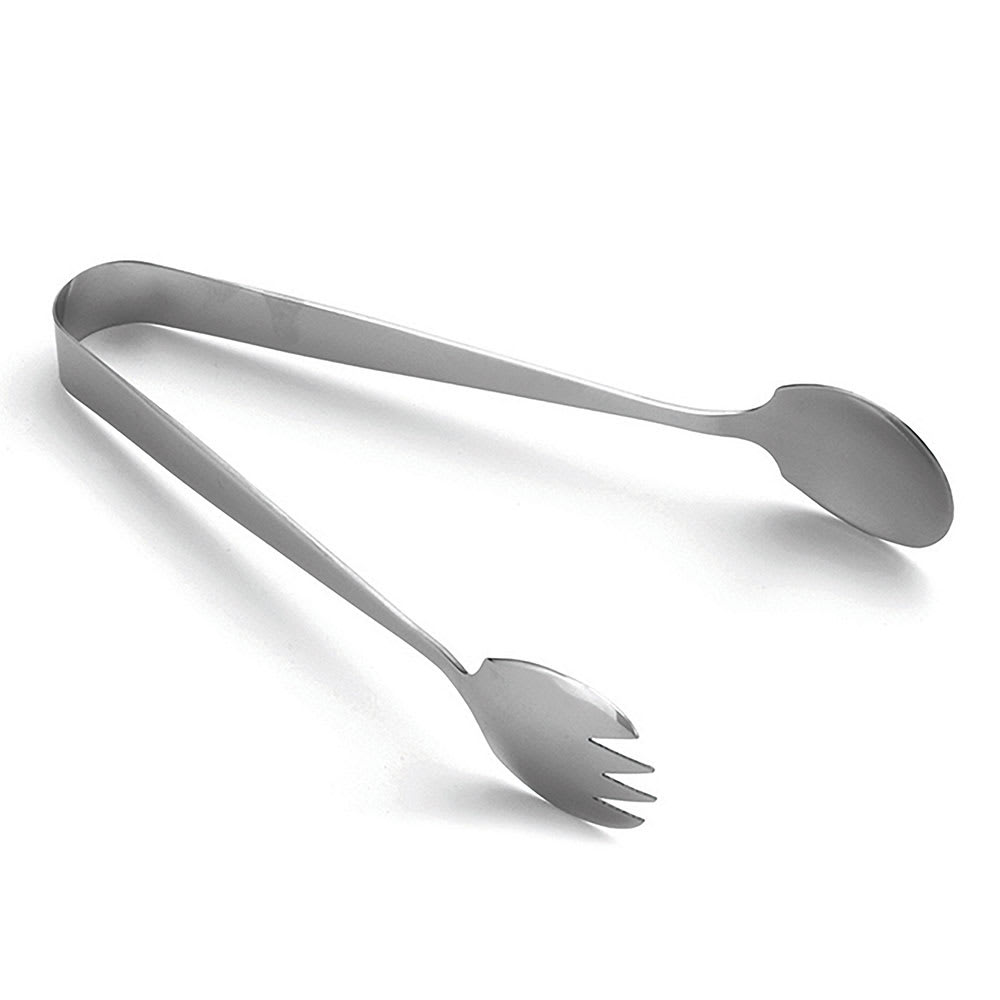"Tablecraft 4403 7.5""L Stainless Serving Tongs"