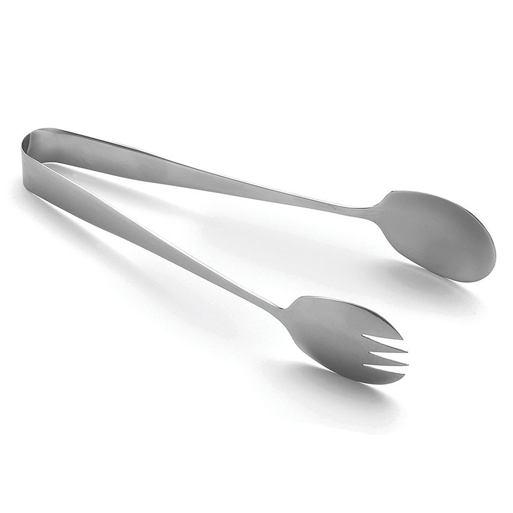 "Tablecraft 4404 9""L Stainless Serving Tongs"