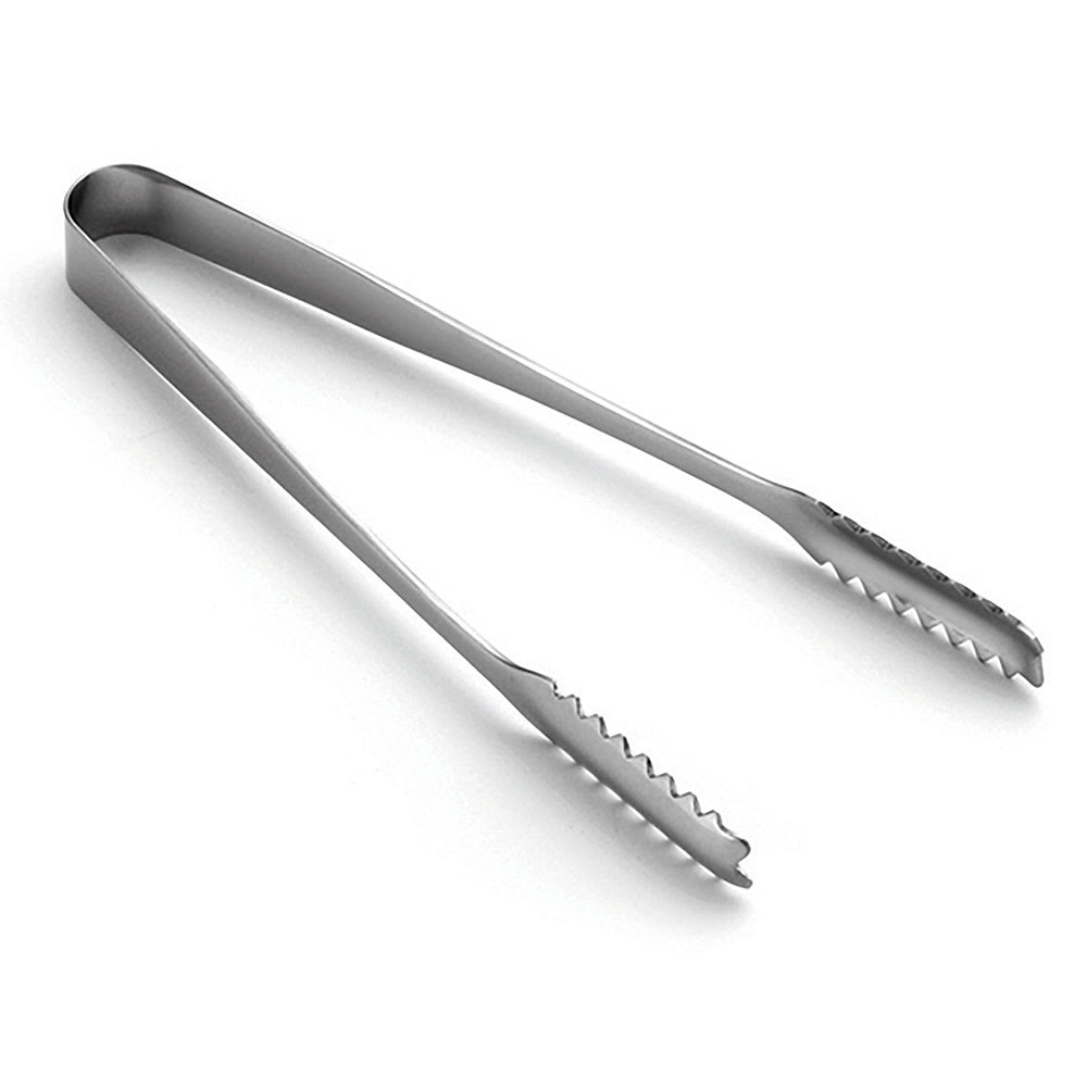 "Tablecraft 4405 6.5""L Stainless Serving Tongs"
