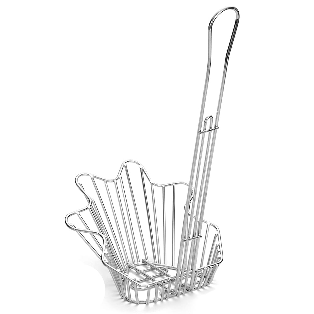 Tablecraft 44060 Taco Fryer Basket w/ 1 Bowl Capacity