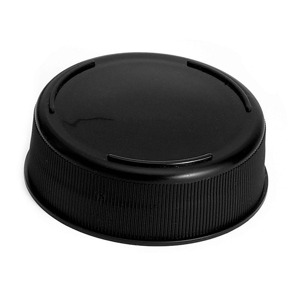 Tablecraft 53FCAPBK Squeeze Bottle End Cap - Black